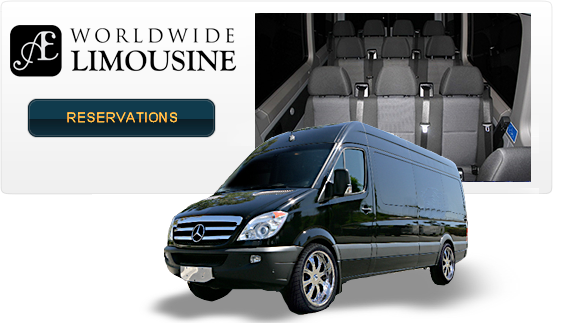 Mercedes Benz Luxury Sprinter Van (14 Passenger)