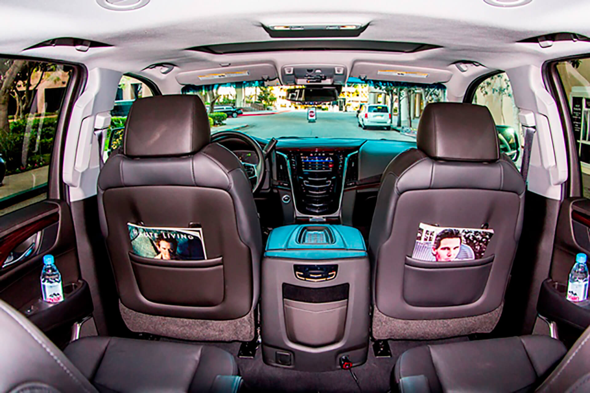 cadillac escalade interior wide
