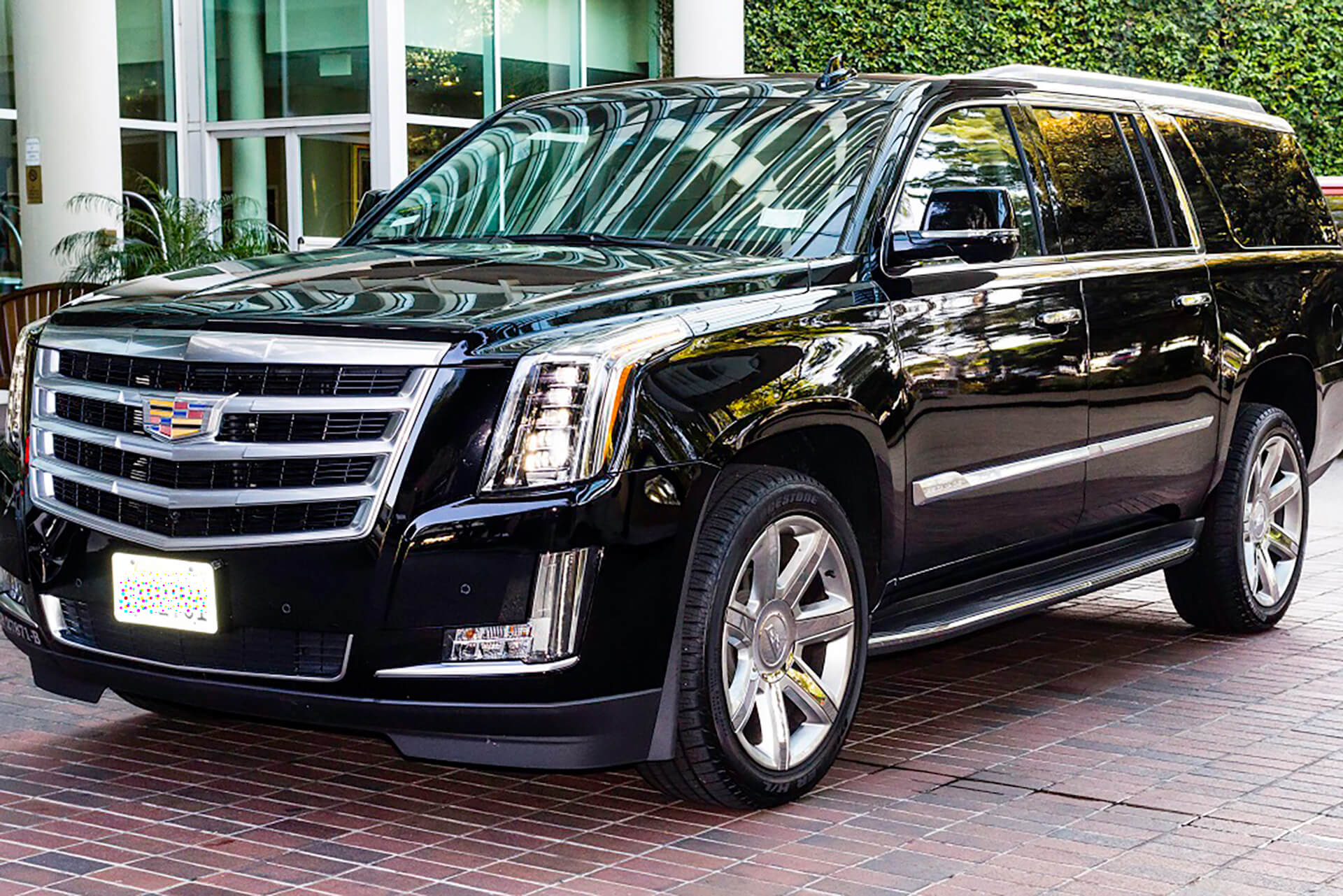cadillac escalade profile