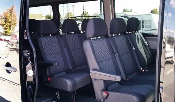 14 pax sprinter van interior capacity
