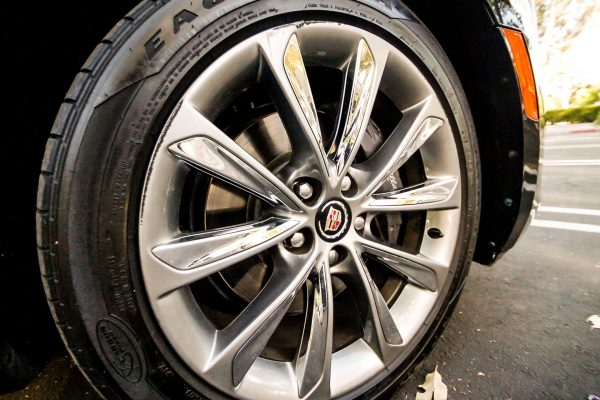 cadillac xts sedan goodyear eagle