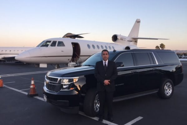 jose chevy suburban private jet